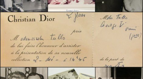 Fashion designer Norma Tullo and her Scrapbook